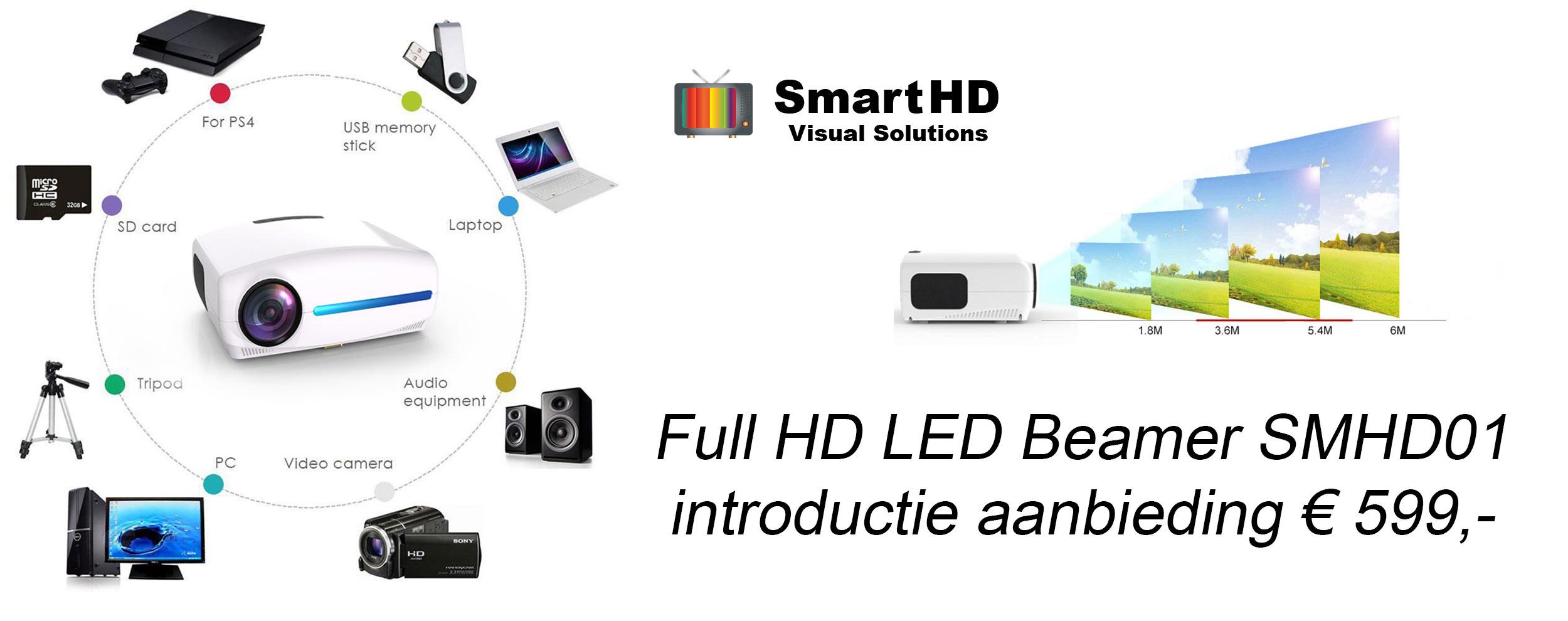 Full HD LED Beamer aanbieding